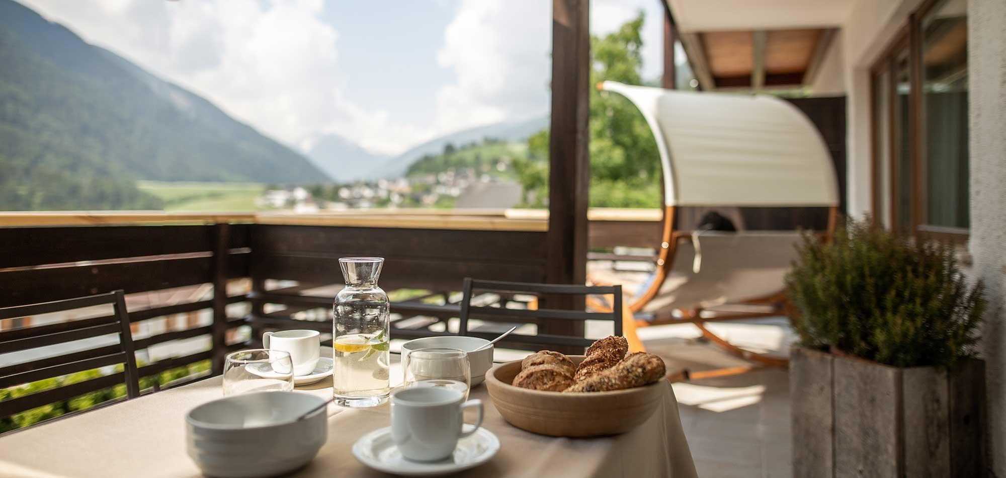 Apartemento terrazzo colazione